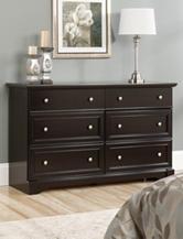 Sauder Avenue Eight Wind Oak 6-Drawer Dresser