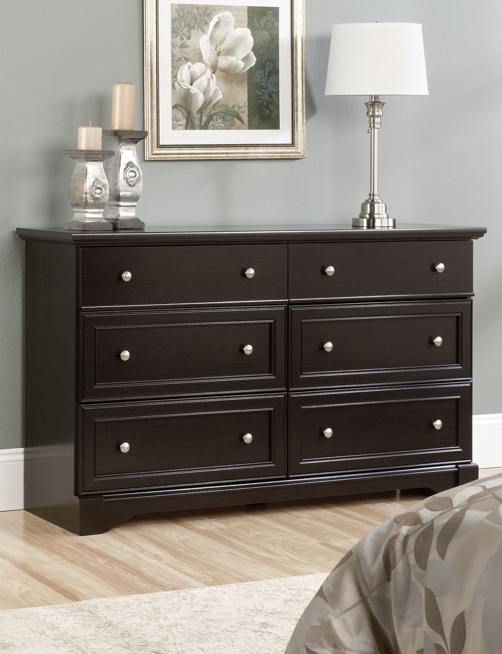 Sauder Avenue Eight Wind Oak 6 Drawer Dresser