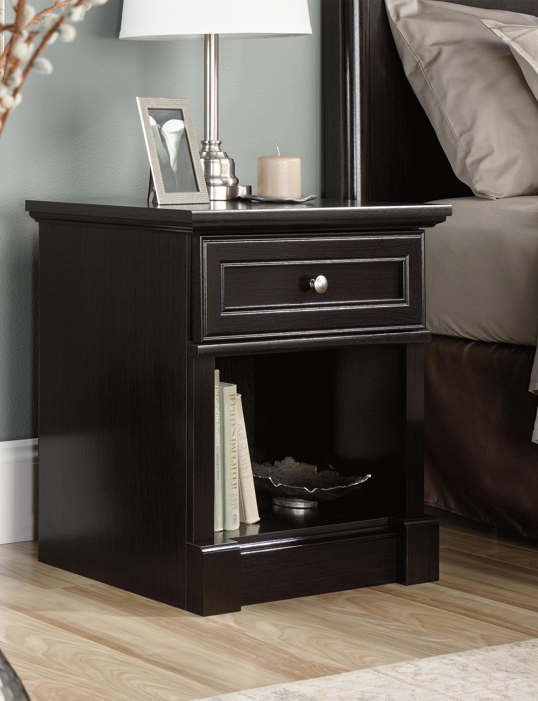 Sauder Espresso Night Stands Bedroom Furniture