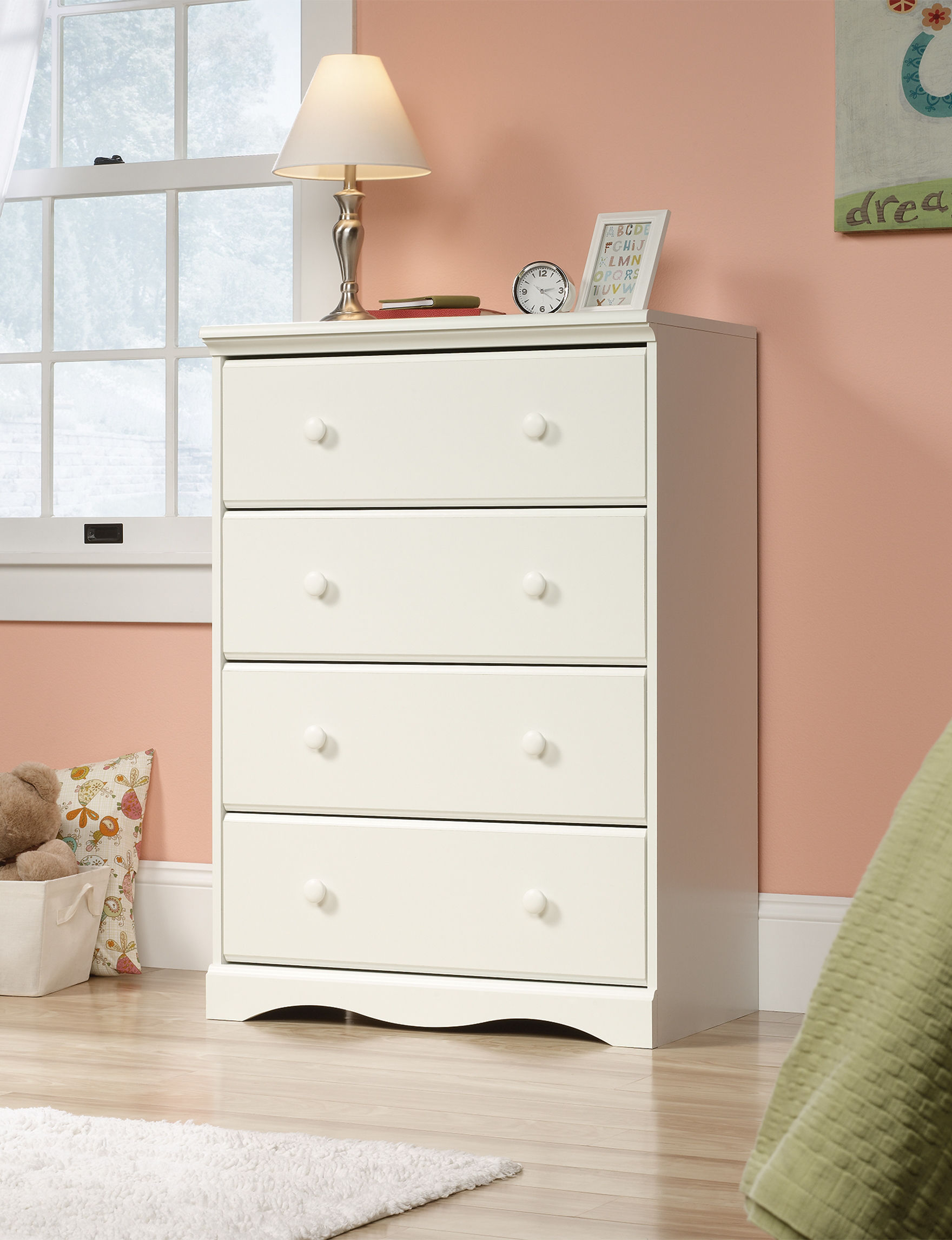 sauder off white dressers chests bedroom furniture