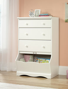 Sauder Off White Dressers & Chests Bedroom Furniture