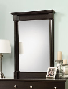 Sauder Espresso Mirrors Bedroom Furniture