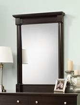 Sauder Avenue Eight Wind Oak Mirror