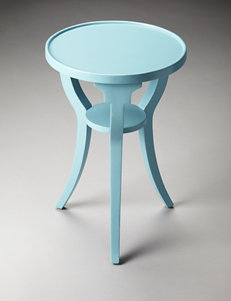 Butler Specialty Co. Sky Blue Accent & End Tables Living Room Furniture