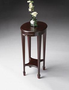 Butler Specialty Co. Cordovan Pedestal Table