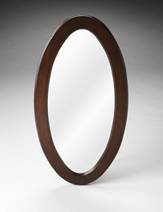 Butler Specialty Co. Plantation Cherry Oval Mirror