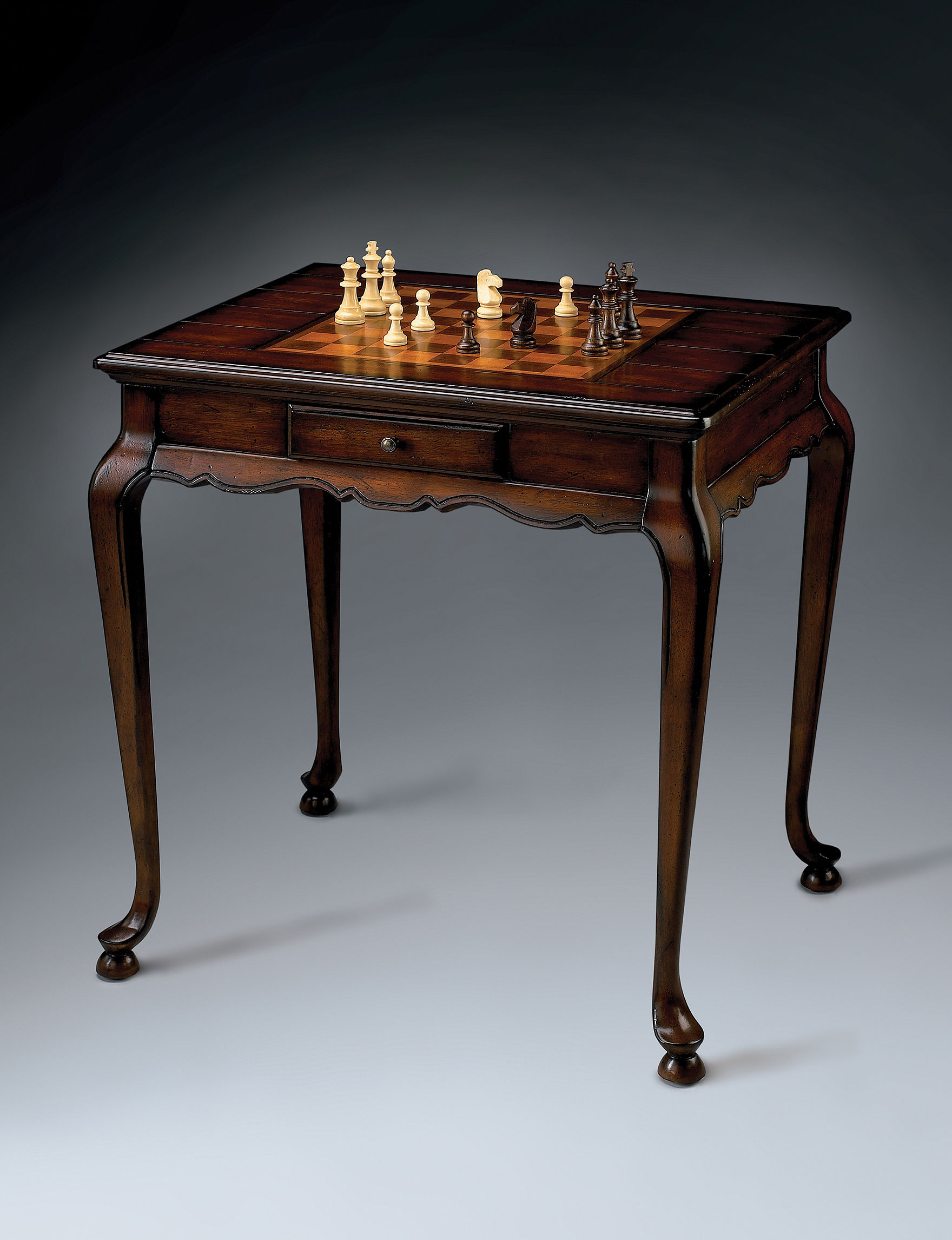 Butler Specialty Co. Plantation Cherry Game Table - Cherry Finish - Butler Specialty Co.