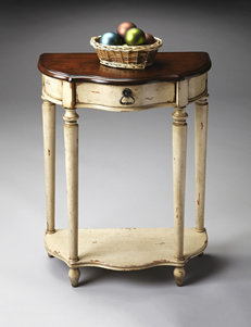 Butler Specialty Co. Cream Accent & End Tables Living Room Furniture
