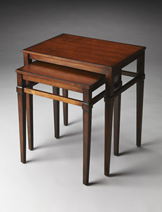 Butler Specialty Co. Plantation Cherry Nesting Tables