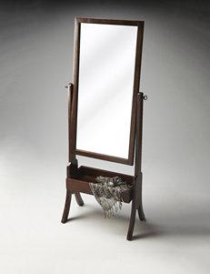 Butler Specialty Co. Espresso Cheval Mirror