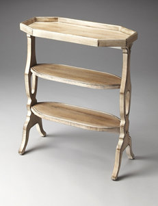 Butler Specialty Co. Driftwood Tiered Accent Table