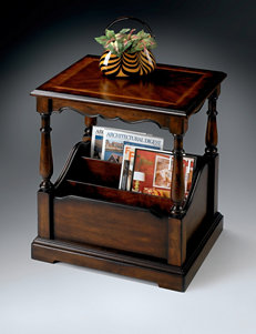 Butler Specialty Co. Plantation Cherry Magazine Table