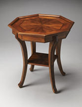 Butler Specialty Co. Antique Cherry Lamp Table