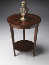 Butler Specialty Co. Nutmeg Starburst Accent Table