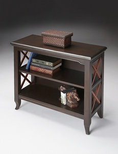 Butler Specialty Co. Transitional Cherry Low Bookcase