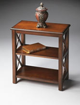Butler Specialty Co. Plantation Cherry Low Bookcase