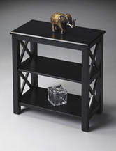 Butler Specialty Co. Black Licorice Low Bookcase