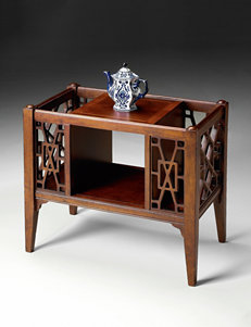 Butler Specialty Co. Cherry Finish Baskets Living Room Furniture