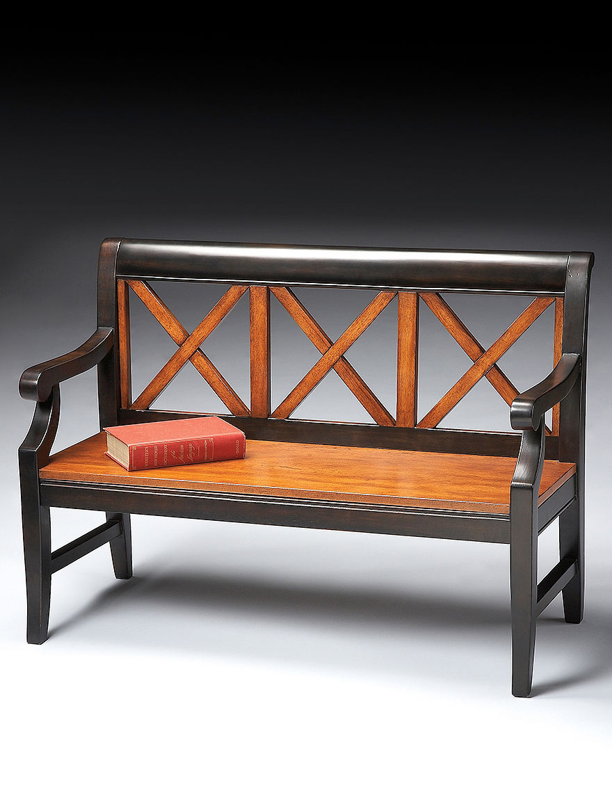 Butler Specialty Co. Brown Ottomans & Benches Living Room Furniture