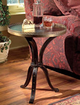 Butler Specialty Co. Distinctive Hand Painted Accent Table