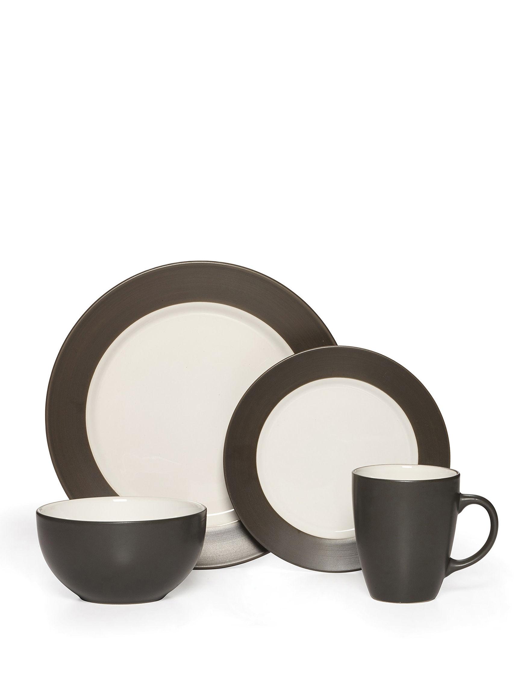 Pfaltzgraff Charcoal Dinnerware Sets Dinnerware