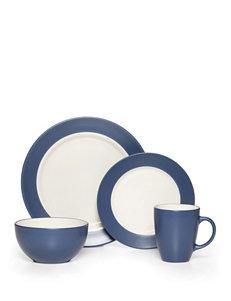 Pfaltzgraff 16-pc. Blue & Cream Everyday Harmony Dinnerware Set