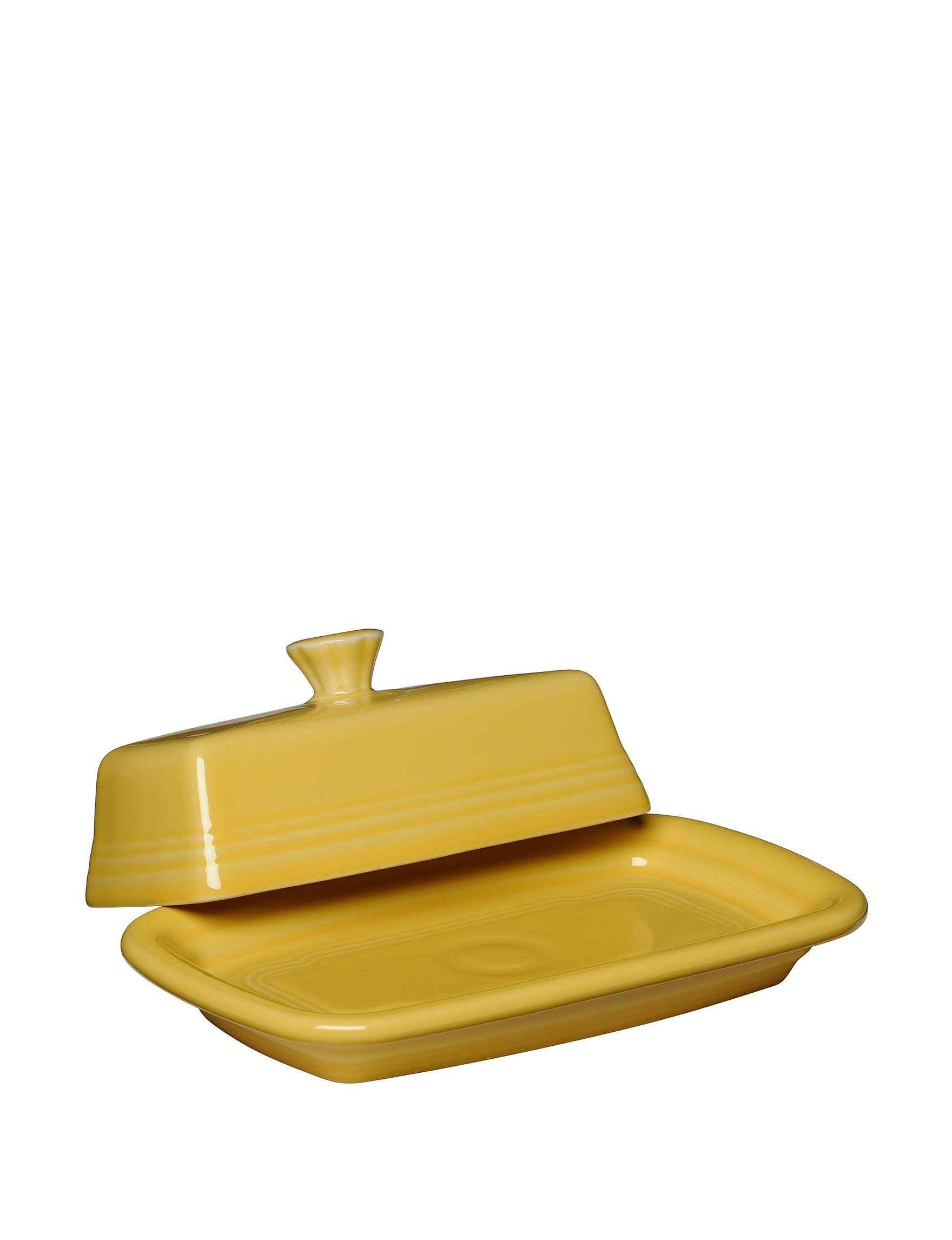 Fiesta Sunflower Serving Platters & Trays Serveware