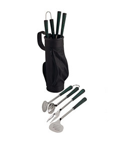 Design Imports 4-pc. Golf-Inspired BBQ Tool Set