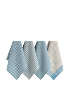 Design Imports Blue Dish Towels Kitchen Linens