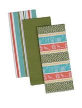 Design Imports 3-pc. Summer Garden Dishtowel Set