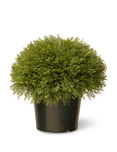 National Tree Company Green Faux Plants Planters & Garden Decor Home Accents Outdoor Decor