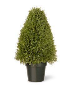 National Tree Company Green Faux Plants Planters & Garden Decor Outdoor Decor