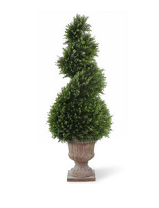 National Tree Company 48 Inch Juniper Spiral Tree with Urn