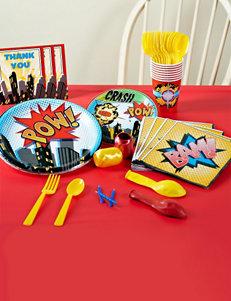 Superhero Comics Basic Party Pack