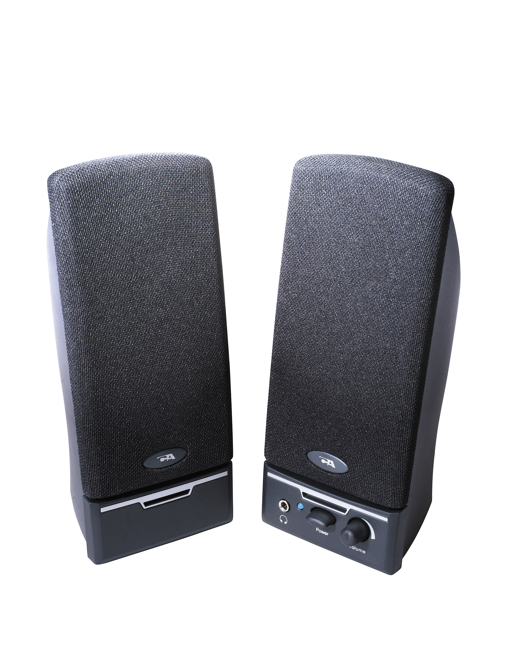 Cyber Acoustics Black Speakers & Docks Home & Portable Audio