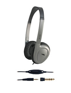 Cyber Acoustics Grey Headphones Home & Portable Audio Tech Accessories