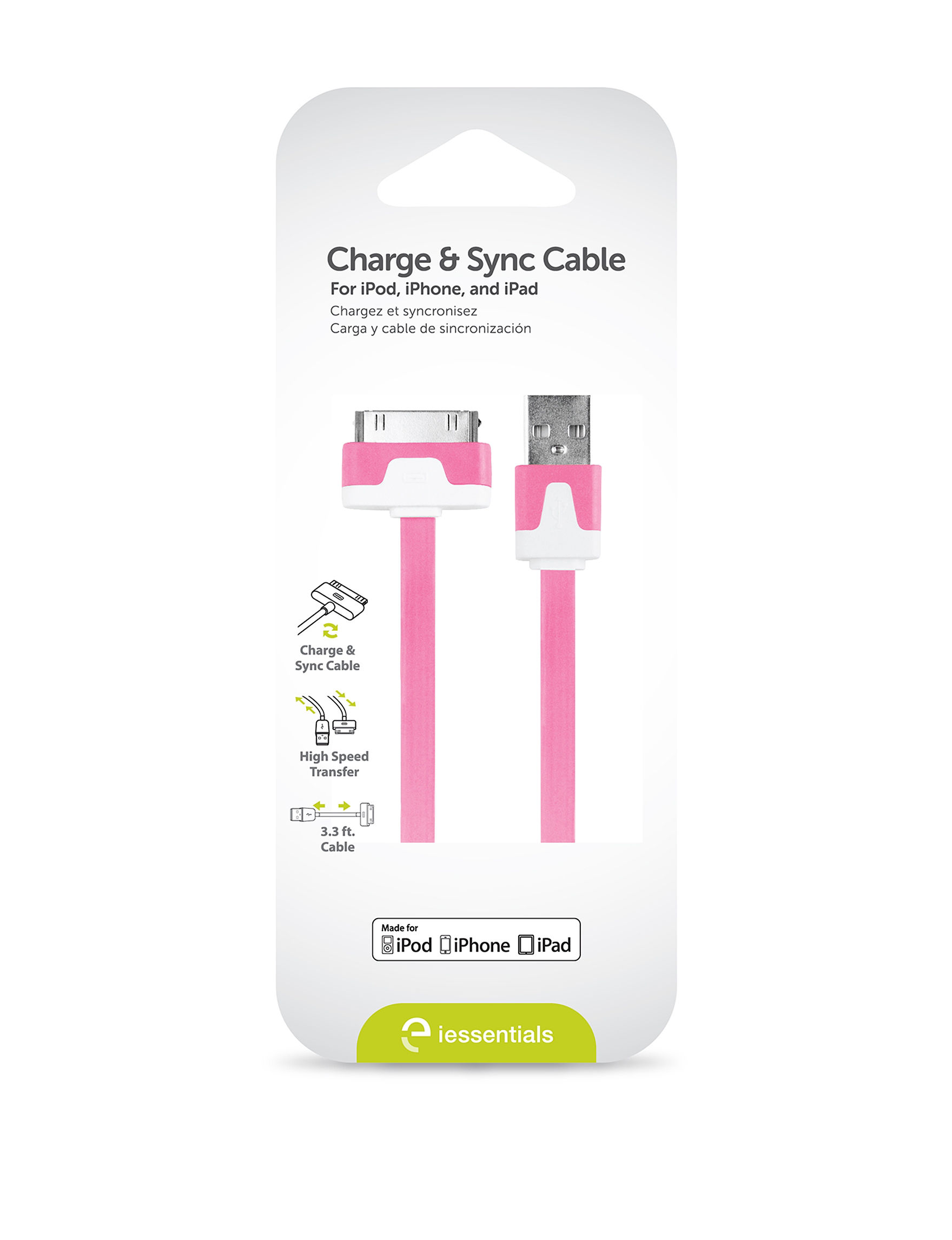 Digipower Pink Cables & Outlets Tech Accessories