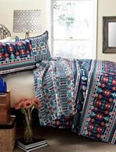 Lush Decor 3-pc. Multicolor Aztec Quilt Set