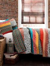 Lush Decor 3-pc. Multicolor Boho Stripe Quilt Set