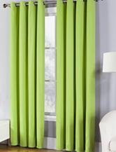 Fiesta® Solid Twill Collection Single Curtain Panel – Lemongrass