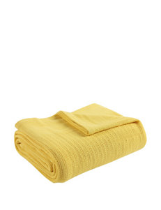 Fiesta Yellow Blankets & Throws