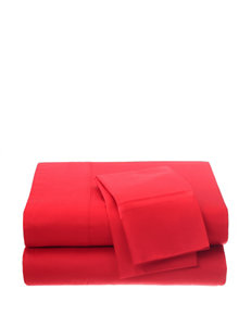 Fiesta Red Sheets & Pillowcases