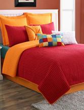 Fiesta® Dash Pic Stitch Reversible Euro Pillow Sham