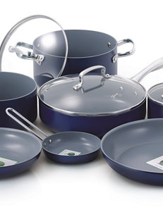 Fiesta 11-pc. Non-stick Aluminum Cookware Set