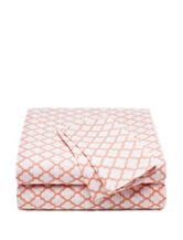 Style Lounge Coral Trellis Print Sheet Set