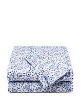 Style Lounge Blue Floral Print Sheet Set