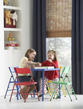Cosco 5-pc. Multicolor Table & Chair Kids Set