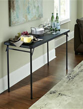 Cosco 20 Inch x 48 Inch Vinyl Top Folding Table