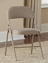 Cosco 4-pc. Deluxe Fabric Folding Chair Set