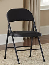 Cosco 4-pc. Fabric Seat & Back Folding Chair